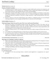 Director of Community Development Resume