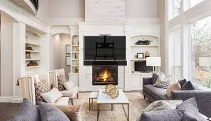 hang mantel lower curved above bedroom stand wall mounted brick mounting flat single screen ideas rock