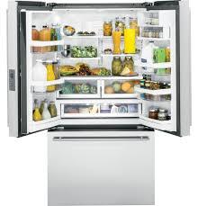 Counter Depth Refrigerator Only Monogram Energy Starar 231 Cu Ft Counter Depth French Door