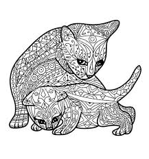 Cat Coloring Pages For Adults Inspirational Kitten Color Pages
