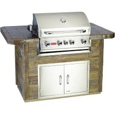 bull outdoor s master q bbq island with 4 burner angus gas grill horizontal access door
