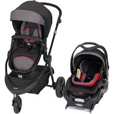 Baby Trend 1st Debut 3-Wheel Travel System, Red - Walmart.com