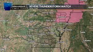 Severe thunderstorm watch for NE ...