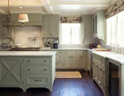 painted kitchen cabinet ideaspainted kitchen cabinets with wood trim  Finishing the kitchen