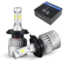 <b>2Pcs</b> H4 LED H7 <b>H11</b> H8 9006 HB4 <b>COB</b> S2 <b>Auto Car</b> Headlight ...