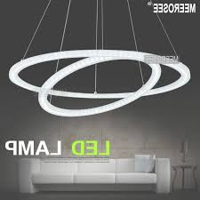 modern led ring chandelier light fixture led circle suspension pertaining to ring chandelier