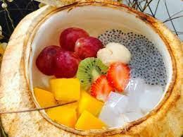 Resep salad buah mayones yoghurt, bisa untuk jualan. Resep Membuat Degan Jelly Yang Lagi Hits Enak Dan Menyegarkan