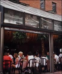 glass garage doors restaurant. Outdoor Dining Area Open Garage Doors - Titan Model Glass Restaurant V
