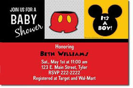 Make Your Own Mickey Mouse Invitations Blank Mickey Mouse Baby Shower Invitations Sansalvaje Com