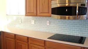Installing Glass Mosaic Tile Backsplash Awesome Best Adhesive For Glass Tile Backsplash Large Size Of Glass
