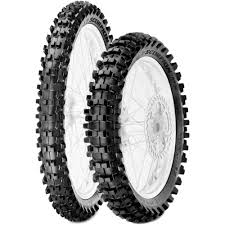 90/100-16 <b>Pirelli Scorpion MX</b> Mid Soft 32 Rear Tire sareg.com