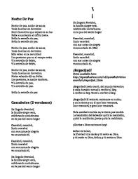 The lyrics do not appear to exactly match the songs, but they give us a better idea than before. Christmas Songs In Spanish Worksheets Teachers Pay Teachers