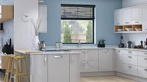 Countertops Backsplash Baby Blue Kitchen Wall Light Grey