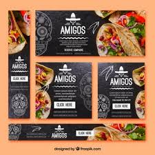 mexican food menu design.  Menu Pack Of Types Mexican Food Banners And Mexican Food Menu Design I
