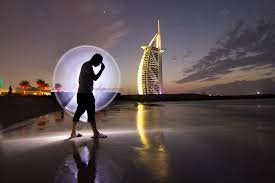 light painting photography visit