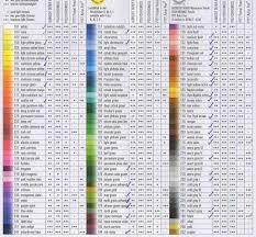 Useful Faber Castell Colour Chart Colin Bradley Art Store