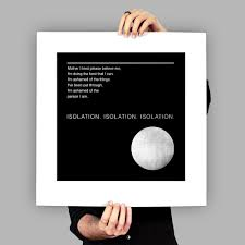 Joy Division Isolation Art Print Poster Color Of Sound