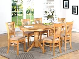 round oak table and chairs oak table and 6 chairs oval oak table large size of