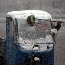 Winterdienst auf Kreta