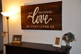 astonishing design diy wall art ideas with brown solid wood wall decor and letters board wall decor