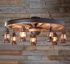 rustic lighting chandeliers. Chandelier, Interesting Rustic Lighting Chandeliers Wood Chandelier Wagon Wheel With Lanterns: Astounding .
