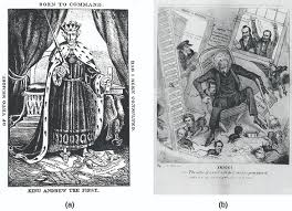 bank war andrew jackson. Perfect Andrew Political Caricature A Represents President Andrew Jackson As A Despotic  Ruler In Robes And In Bank War
