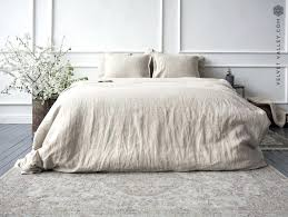 natural linen duvet cover create your account king nz hotel collection