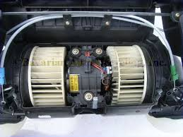 bmw climate heater blower motor