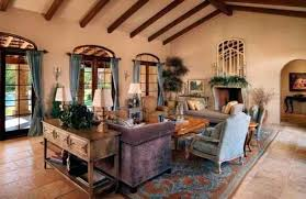 Tuscan Inspired Living Room New Decorating Design