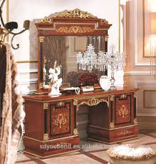 Solid Bedroom Furniture 0038 European Luxury Classic Bedroom Set Furniture Solid Wood