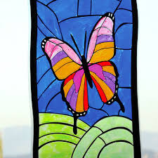 erfly stained glass