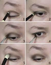 1920s flapper eye makeup flapper makeup step