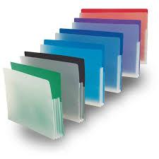 Plastic Expanding File Pockets Charts Carts Patient