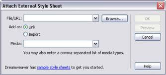 How to Link Cascading Style Sheets (CSS) with Dreamweaver - dummies