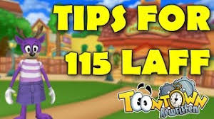 getting 115 laff toontown rewritten