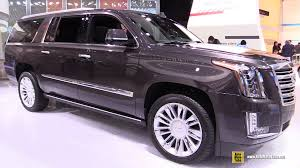 cadillac escalade interior 2016. 2016 cadillac escalade esv platinum exterior and interior walkaround detroit auto show youtube