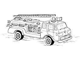 Coloring Pages Fire Truck Fire Engine Coloring Pages Fire Truck