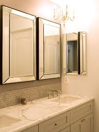 frameless vanity mirrors for bathroom. bathroom vanity mirrors with lights brushed nickel medicine home frameless for f