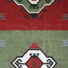 novica abstract evergreen wool rug 5 x8 southwestern area rugs by novica