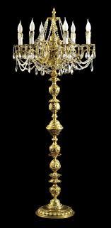 captivating chandelier standing lamp and black chandelier floor lamp