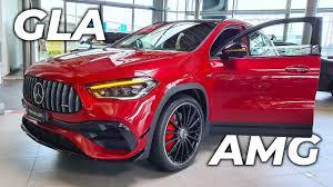 Così come per classe a non sono tardati ad arrivare i due modelli 45 amg. New Mercedes Gla 45 S Amg 2020 Youtube