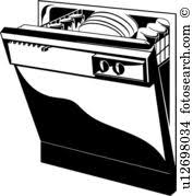 dishwasher clipart black and white. appliance, dishwasher, kitchen, dishwasher clipart black and white i
