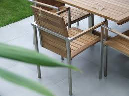 extending teak and stainless steel garden furniture set riviera inside amazing stainless steel garden furniture intended for wish