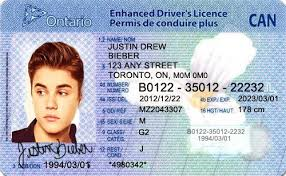 Templates Card - 239336 Template Station Ontario Id Canadian Drivers Canada License