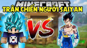 MINECRAFT BẢY VIÊN NGỌC RỒNG SIÊU CẤP   Tập 2   Trận Chiến Với Hoàng Tử  Người Saiyan Vegeta !! - YouTube
