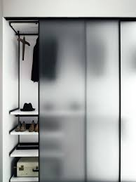 white kitchen windowed partition wall: tempered glass partition wall greene boffispa wardrobe