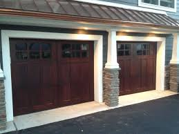 dark brown garage doorsGarage Doors  Dark Bronze Garageors Walnut With Light Trim