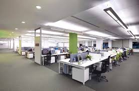 suspended office lighting. Office Lighting Plan. LED Solutions For An Open Plan In The UK And Suspended A