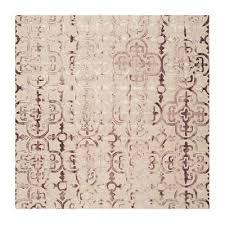 safavieh dip dye hand tufted wool beige and maroon area rug