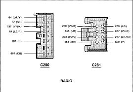 2006 ford escape wiring diagram carlplant beauteous radio 2006 ford explorer radio wiring diagram at 2006 Ford Escape Radio Wiring Diagram